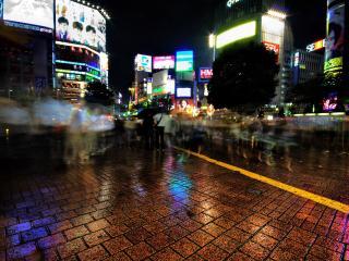 обои Ночные улицы Тайланда фото
