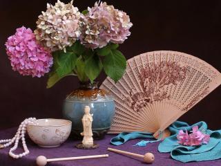 обои Японский женский набор фото