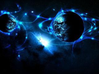 обои Синяя планета фото