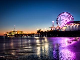 обои Санта-Моника штат Калифорния фото