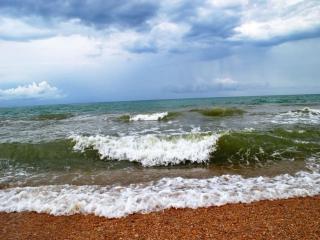 обои Черное море. Бугазская коса фото