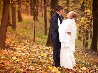 обои Краски осенней свадьбы фото