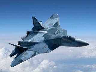 обои Опытный образец российского истребителя 5-го поколения Т-50 фото