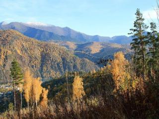 обои Осенние краски гор фото