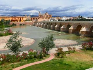 обои Величественный городской мост фото