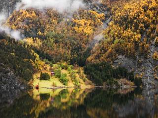 обои Осенний Ваксдал фото