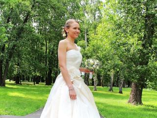 обои Счастливая невеста фото