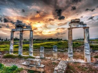 обои Старинные разрушенные арки фото
