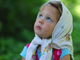 обои Маленькая русская красавица фото