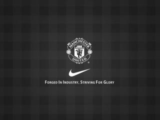 обои Логотип Манчестер Юнайтед фото