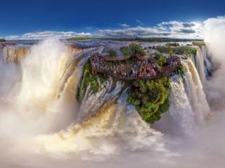 обои Водопады Игуасу. Бразилия фото