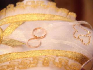 обои для рабочего стола: Свадебные кольца