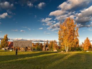 обои Сельская осень фото