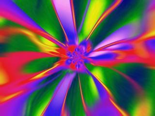 обои Абстракция - радуга фото