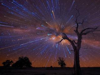 обои Звёздный дождь фото