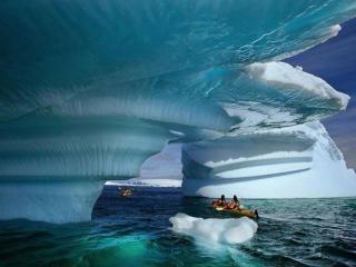 обои Айсберги Аляски фото