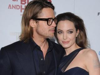 обои Брэд Питт и Анджелина Джоли фото