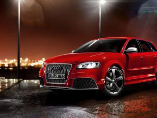 обои Красный Audi s3 спортбэк фото