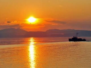 обои Байкальский закат фото
