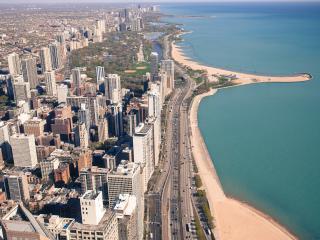 обои Прибрежный район Чикаго фото