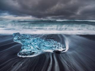 обои Ледовая лагуна. Исландия фото