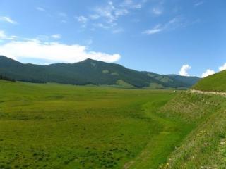 обои В долине горного Алтая фото