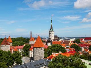 обои Старый Таллин фото