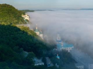 обои Храмы в тумане фото