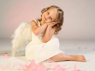 обои Маленький ангел фото