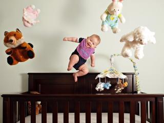 обои Полет малыша фото