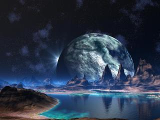 обои Чужая планета фото