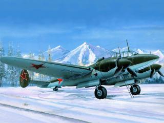 обои Советский  пе-2м,   пешка фото