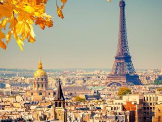 обои Красота осеннего парижа фото