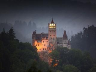 обои Замок Дракулы. Трансильвания фото