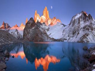 обои Патагония Laguna de los Tres фото