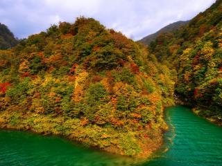 обои Живописные холмы в воде фото