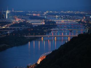обои Вена. Австрия. Город Мостов фото