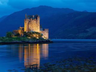 обои Замок Эйлен-Донан. Шотландия фото