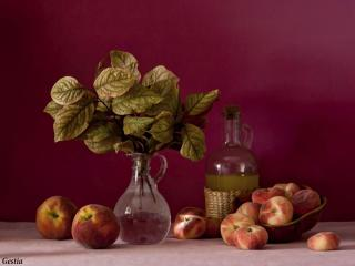 обои Натюрморт - Персиковое масло фото