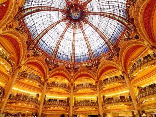 обои Галерея Лафайет в Париже фото