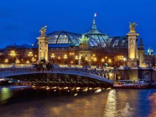 обои Мост Александра III. Париж. Франция фото