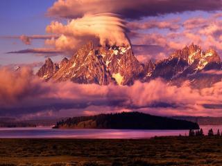 обои Grand Tetons. Национальный парк США фото