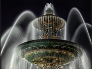 обои для рабочего стола: Парижский фонтан