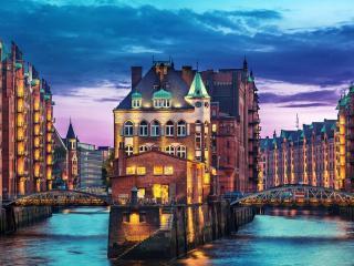 обои Гамбург. Германия фото