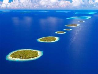 обои Частные острова на Мальдивах фото