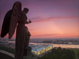 обои для рабочего стола: Санкт-Петербург. Вид с Исаакиевского собора