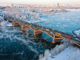 обои Красноярск. Россия фото