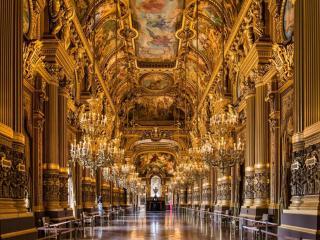 обои Парижская Опера в Большом фойе фото