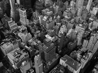 обои Вид города сверху фото