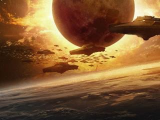 обои Небо и планета фото